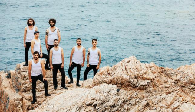 El nuevo septeto -ya sin Adán Ruiz-, con sus habituales camisetas, posan en esta imagen promocional. Bernat Almirall