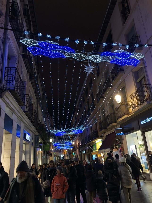 Iluminación en la Calle Real A.M.