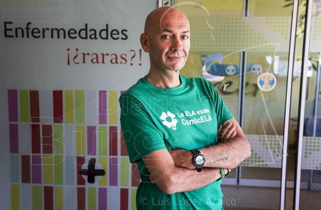 Jesús Gómez, un burgalés que padece ELA, nos contó su experiencia con esta dura enfermedad