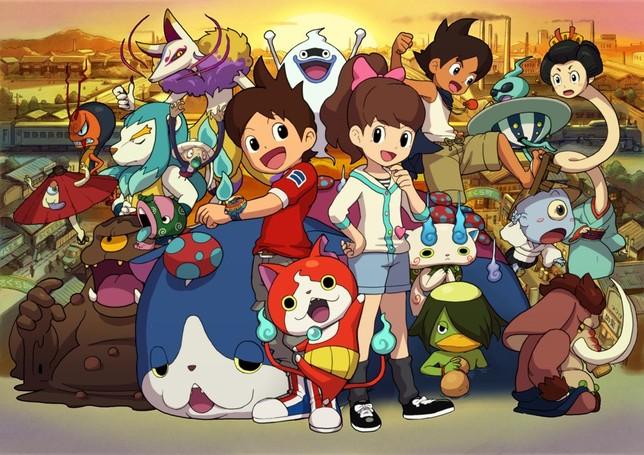 Protagonistas de Yo-Kai watch