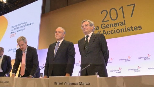 Gas Natural Fenosa: 1.347 millones en 2016