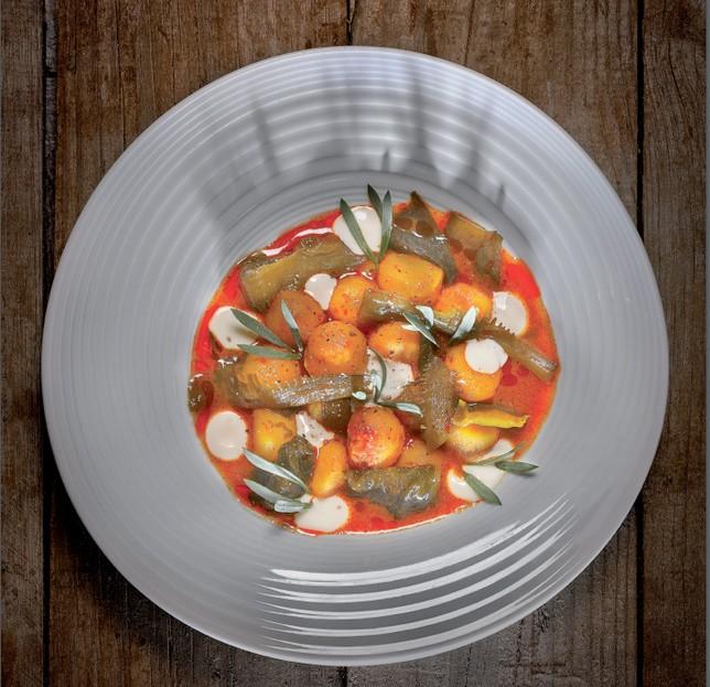 Uno de los platos que se presentan en el libro
