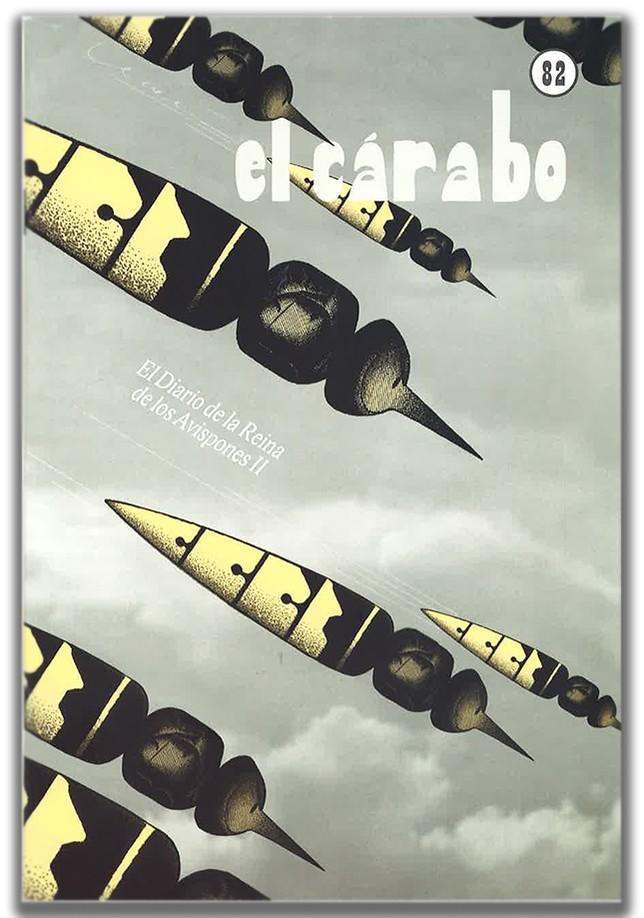 Portada de El Cárabo 82 / Pierre Deóm