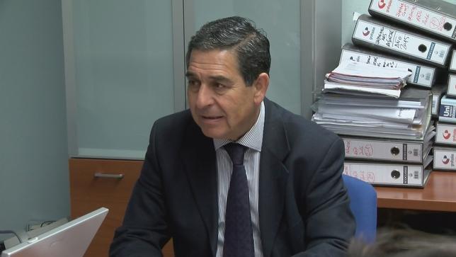 El actual decano Julio Sanz Orejudo, también del Consejo de Castilla y León  D.M.