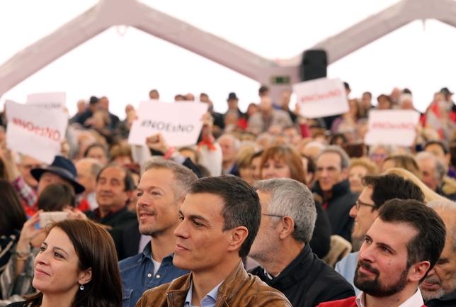 Acto político de Pedro Sánchez en Valladolid