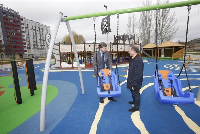 El primer parque inclusivo diario de burgos - Parque infantil casa ...