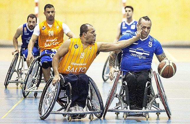Servigest buscará una plaza en la máxima categoría nacional de baloncesto en silla de ruedas. Valdivielso