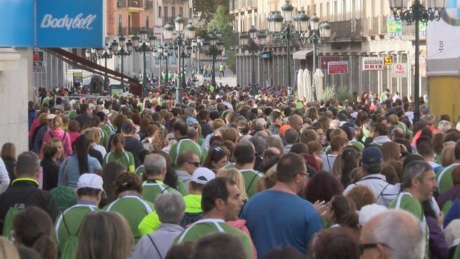 Segovia se mueve contra el cáncer Verónica González
