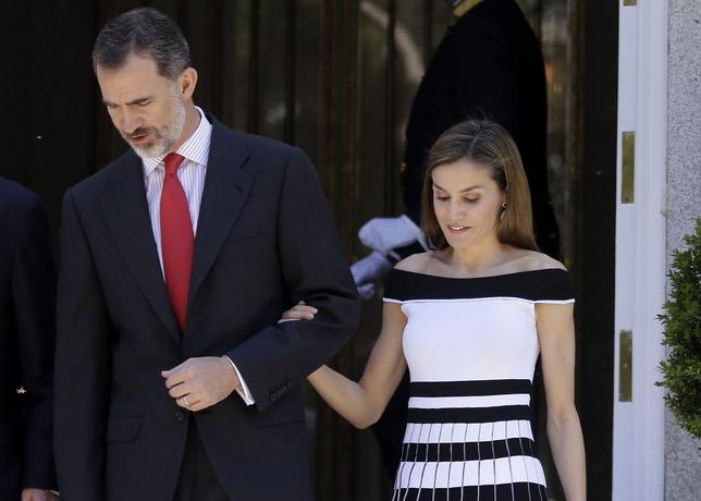 Los Reyes Felipe y Letizia apuestan por el cine de terror EUROPA PRESS