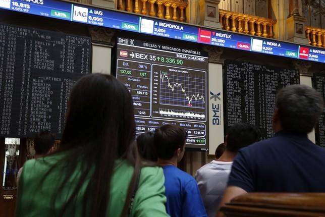 El Ibex rebota un 1,76% Javier Lizón