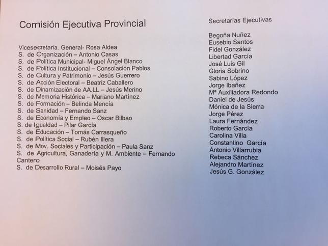 Andrés, reelegida con el 65% de los votos