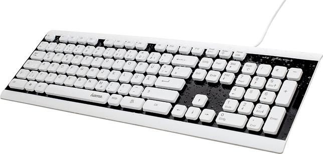 Nuevo teclado 'lavable' de Hama
