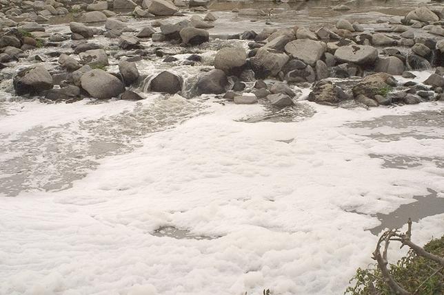 Vertido de aguas residuales al Adaja Vicente García