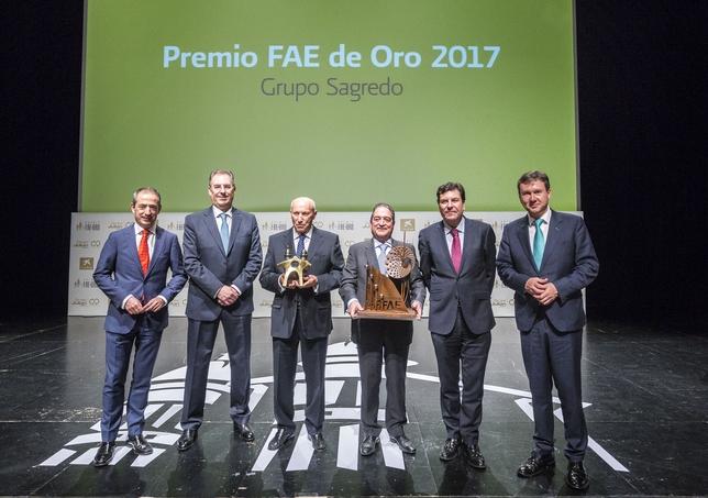 Entrega de premios de los FAE de Oro en el Fórum Evolución.