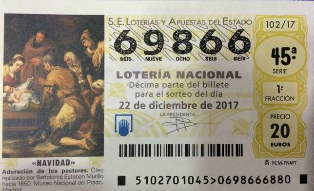 Un AMPA vende participaciones con un número erróneo