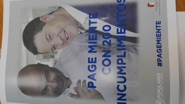 El PP critica las «200 mentiras de Page»