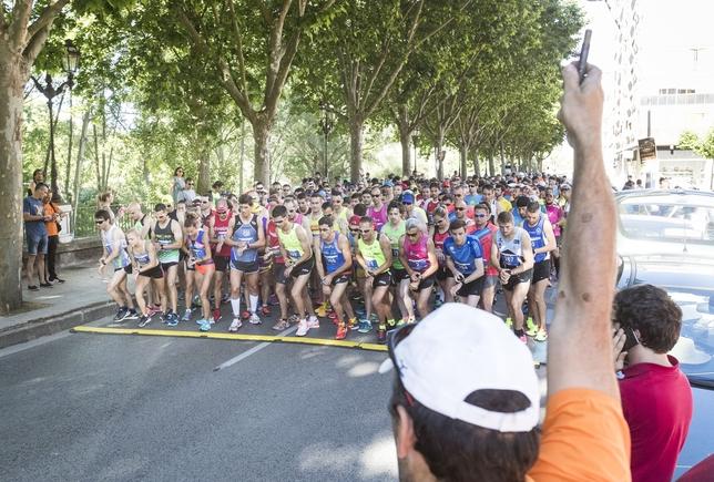 Salida de la Media Maratón Ciudad de Burgos.