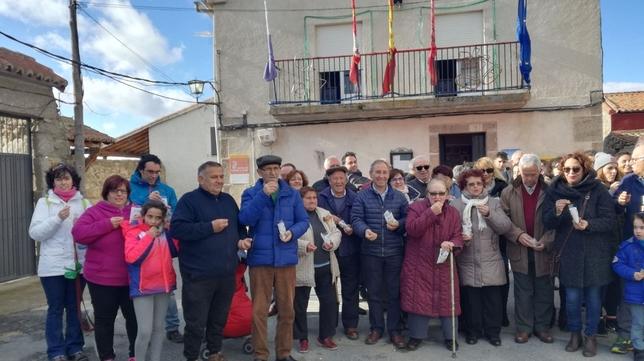 En Villar del Corneja ya es Año Nuevo