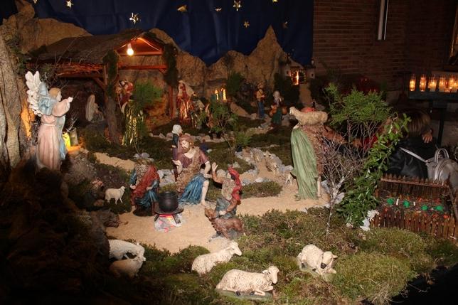 Obras de arte que cobran vida en Navidad