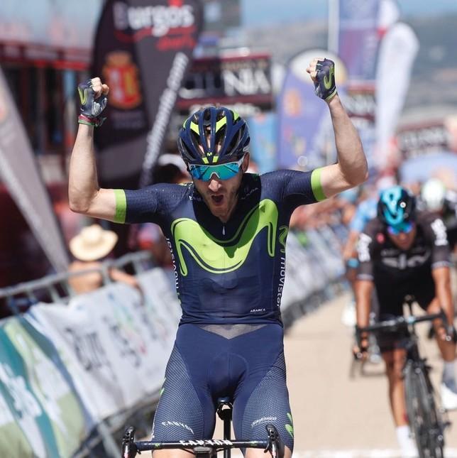 Carlos Barbero se quedó sin opciones en el Castillo y Belorado, pero esta tarde se ha resarcido con una gran victoria ante rivales del nivel de Alaphilippe o Moscon. Alberto Rodrigo