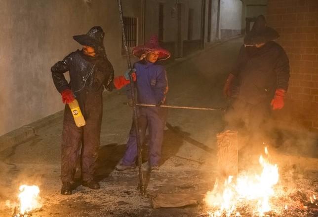 Fiesta del fuego en Mayorga Ical