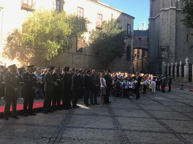 Toledo aplaude a la Guardia Civil