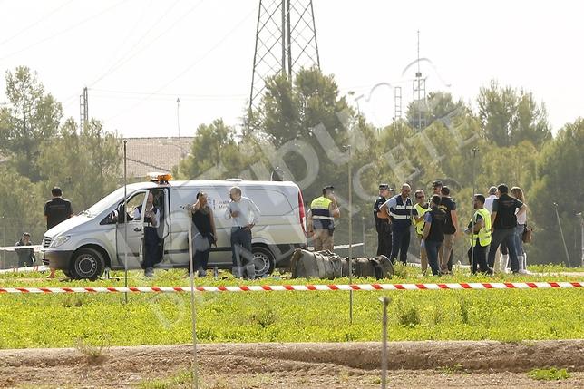 Fallece el capitán del Ala 14 Borja Aybar en el accidente del Eurofighter que participó en el desfile de Madrid. / RUBÉN SERRALLÉ