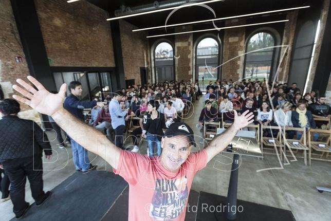 Aitor Francenesa explicó a los emprendedores de Burgos que nada es imposible