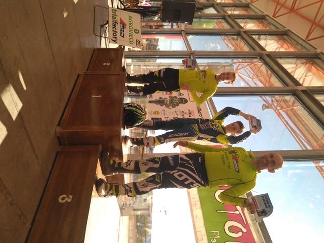 7 podios en el trial de Plasencia
