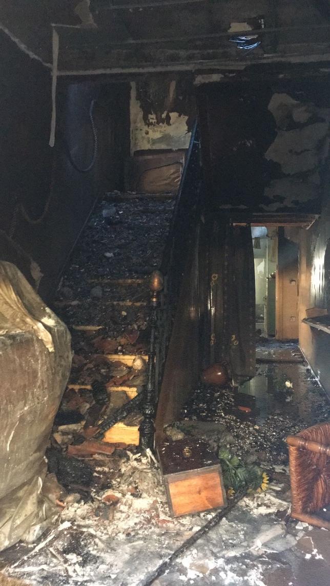 Fuenterrebollo: 4 casas incendiadas