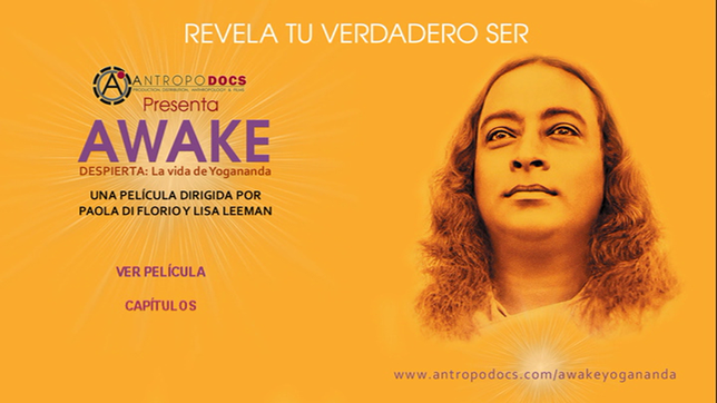 Pantalla principal del DVD AWAKE Self-Realization Fellowship