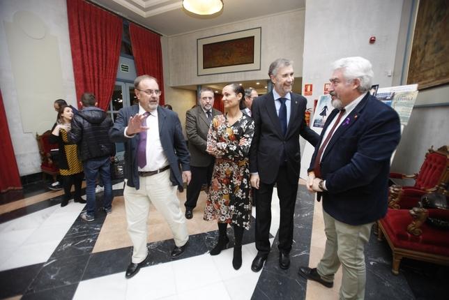El Consejero de Educación y el Rector de la Ubu asistieron a la gala Valdivielso