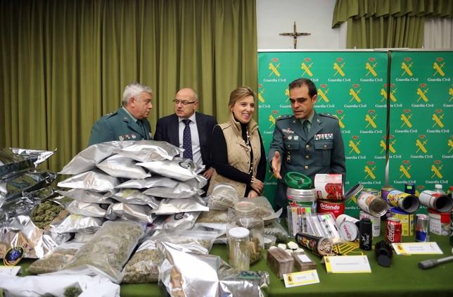 La Guardia Civil desarticula una banda con 40 kilos de droga MiriamChacoN