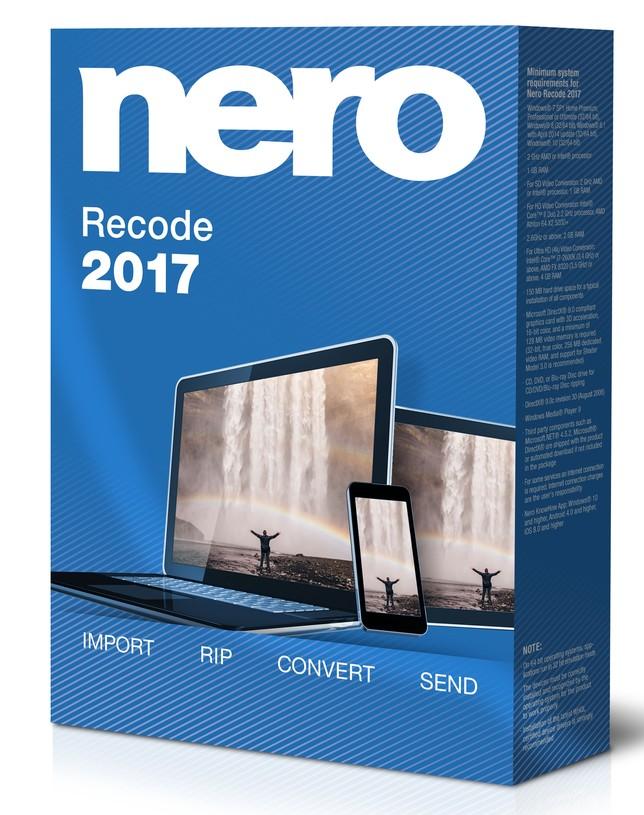 Nero Recode, el conversor total, a un solo click