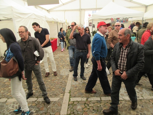 Cientos de saldañeses en la Feria de San José