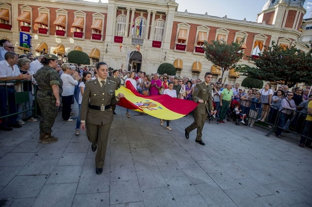 Homenaje multitudinario a España PABLO LORENTE Pablo Lorente