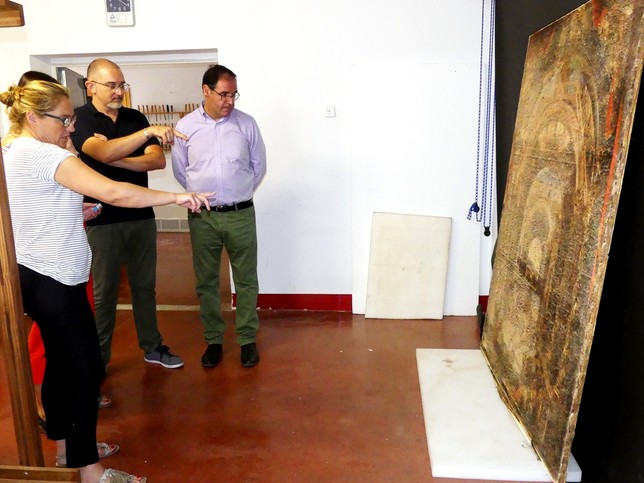 Prieto subraya la gran actividad del Centro de Conservación