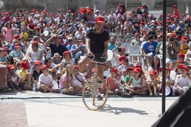 Mejores imágenes del Festival Internacional de Circo.
