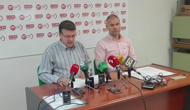 UGT y CCOO denuncian la parálisis en el plan 'Ávila 2020'