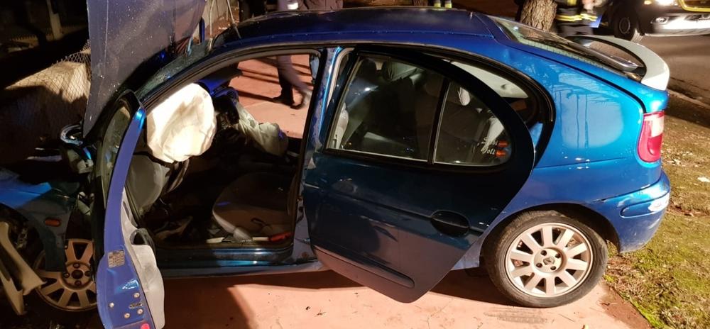 Estado en el que quedó el vehículo y operación de rescate.