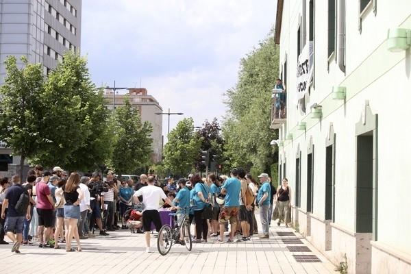 De hotel a centro social 'okupa'