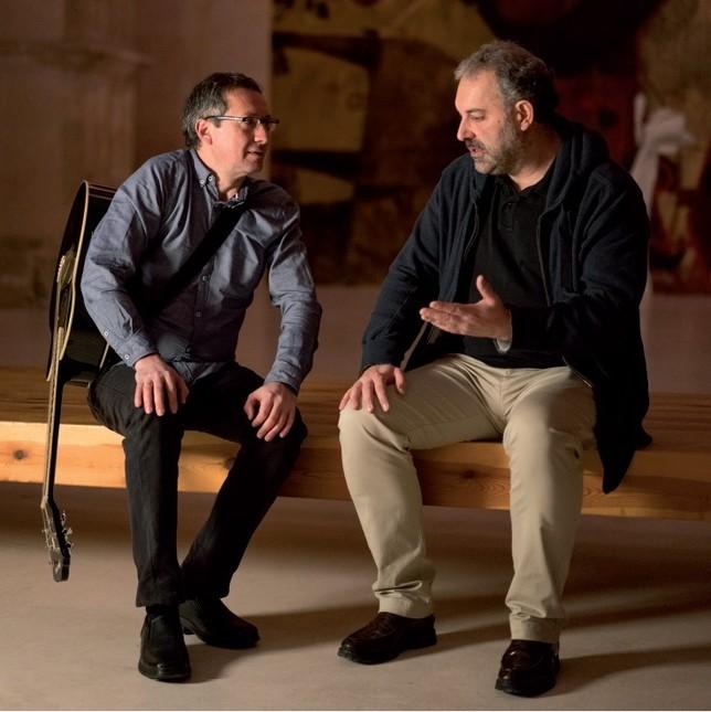 Javier Pelayo y Jesús Mateo