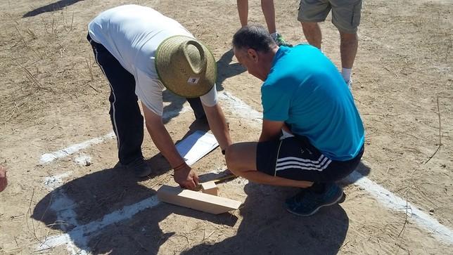 La competición de juegos tradicionales arrancó en Horcajo