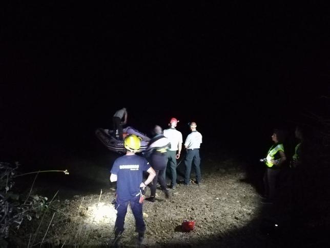 Rescatan el cadáver de una mujer en Alarcón CONSORCIO 112