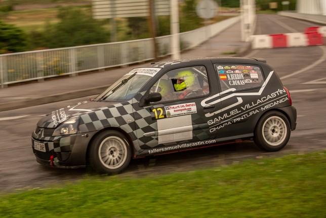Dos abulenses, en el Top-10 del Rallye de el Bierzo