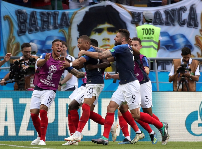 FRANCIA VS. ARGENTINA