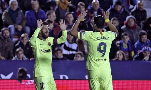 Messi destroza al Levante