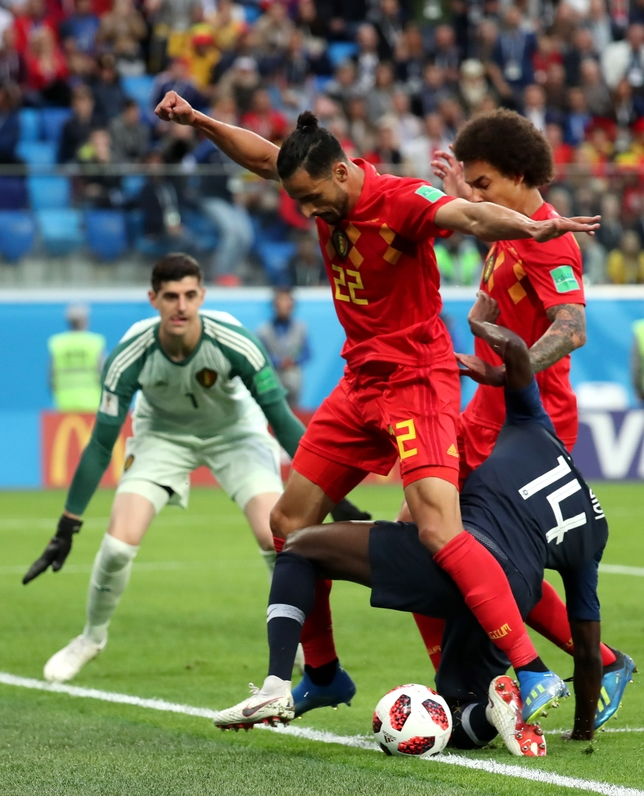 Semi Final France vs Belgium