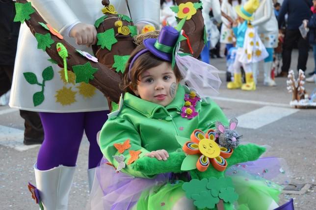 Un desfile infantil de Carnaval con nombre propio