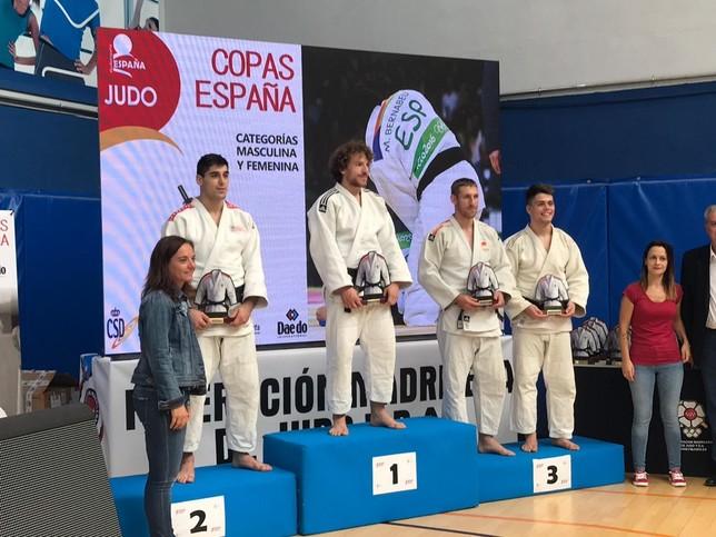 Triunfo soriano en la Copa de España A de Judo en Getafe